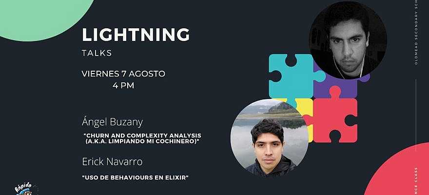Lightning Talks - Agosto 7